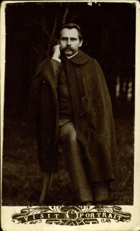 Йонас Билюнас. Фото 1905 года.
